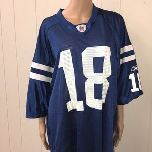 Peyton Manning on the field jersey size 2 XL